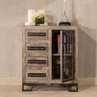 Hillsdale Bridgewater Brushed Tan Accent Cabinet