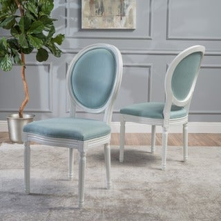 Phinnaeus Fabric Dining Chair (Set of 2) by Christopher Knight Home