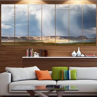 Designart 'Lake Powell under Clouds' Landscape Wall Artwork