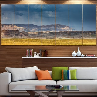 Designart 'Lake Powell Panorama' Landscape Wall Artwork