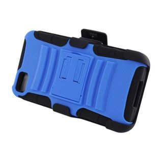 Insten Hard PC/ Silicone Dual Layer Hybrid Case Cover with Stand/ Holster For BlackBerry Z10
