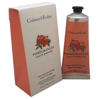 Crabtree & Evelyn 3.5-ounce Pomegranate Argan & Grapeseed Ultra-Moisturising Hand Therapy