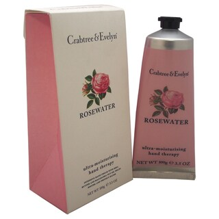 Crabtree & Evelyn 3.5-ounce Rosewater Ultra-Moisturizing Hand Therapy
