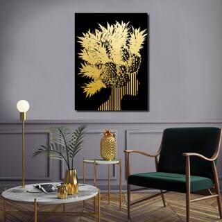 Ready2HangArt Wall Decor 'Gilt Mod XIV' in ArtPlexi