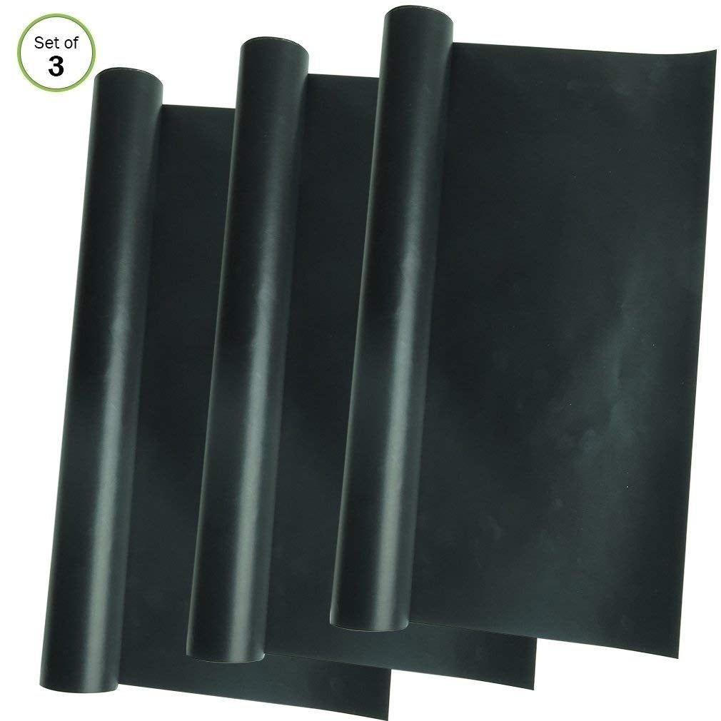 Green Mountain Evelots 2 Large Non Stick Oven Rack Liners...