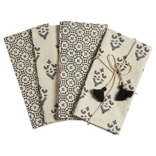 TAG Henna Block Print Napkin (Set of 4)