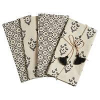 TAG Henna Block Print Napkin (Set of 4)