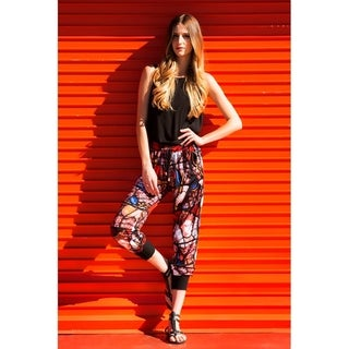Stained Glass Printed Joggers