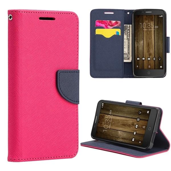 Shop Alcatel Onetouch Fierce 4(Metropcs) Diary Wallet Hot