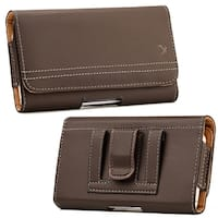 Htc One M7/Sam S6/Sam S7 Universal Leather Pouch