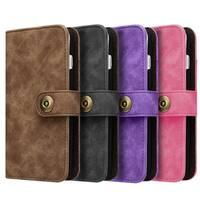 Iphone 7 Plus Luxury Coach Lite Series Flip Wallet Case
