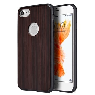 Iphone 7 The King Wood Fusion Case W/ Black Wood Trim