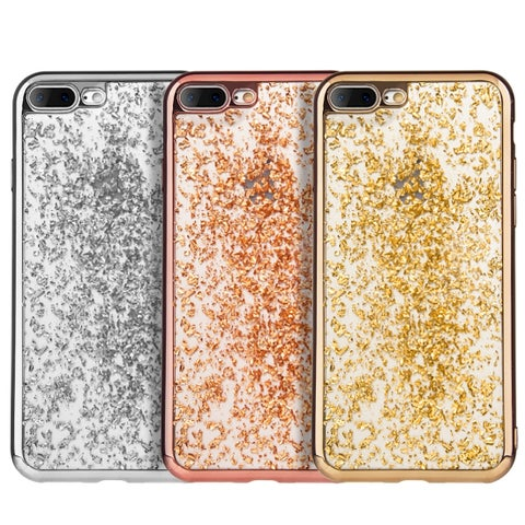 Iphone 7 Plus Gold Leaf Tpu Series Bumper Case
