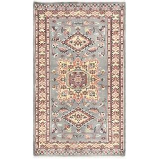 Herat Oriental Pakistani Hand-knotted Bokhara Wool Rug (3' x 5')