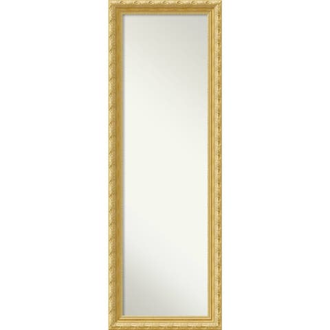 On The Door Full Length Wall Mirror, Versailles Gold 18 x 52-inch - 52 x 18 x 1.508 inches deep