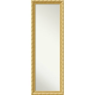 On The Door Full Length Wall Mirror, Versailles Gold 18 x 52-inch - Antique Gold