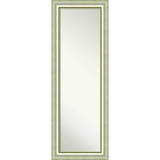 On The Door Full Length Wall Mirror, Vegas Curved Silver 19 x 53-inch - Bronze/Silver - 52.75 x 18.75 x 1.573 inches deep
