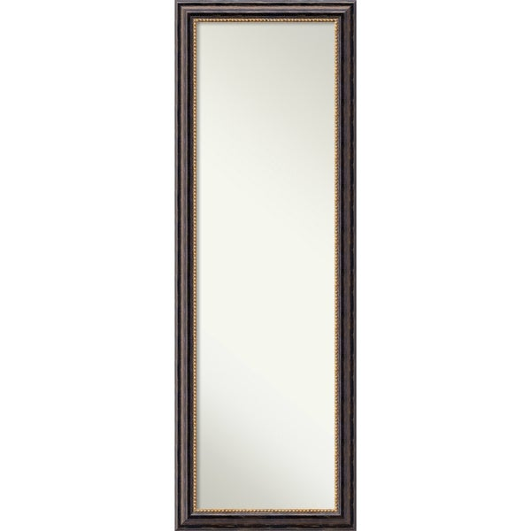 On the door full length wall mirror tuscan rustic 18 x 52 for 4 x 5 wall mirror
