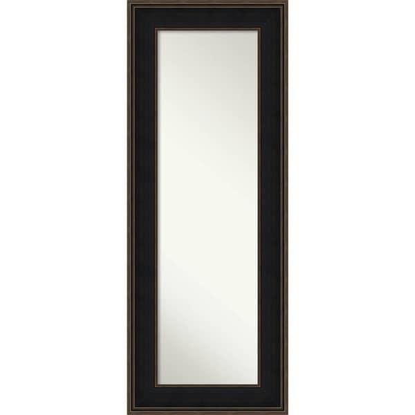 On The Door Full Length Wall Mirror Mezzanine Espresso 22 X 56 Inch