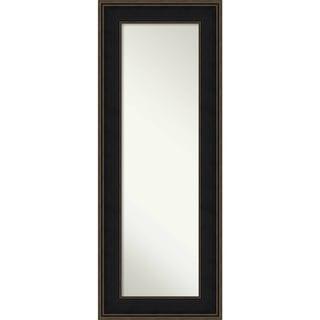 On The Door Full Length Wall Mirror, Mezzanine Espresso 22 x 56-inch