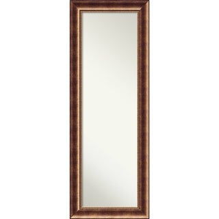 On The Door Full Length Wall Mirror, Manhattan Bronze 20 x 54-inch - Red - 53.38 x 19.38 x 1.098 inches deep