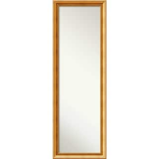 On The Door Full Length Wall Mirror, Townhouse Gold 18 x 52-inch - 51.50 x 17.50 x 1.33 inches deep