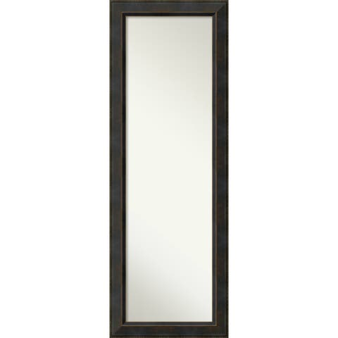 On The Door Full Length Wall Mirror, Signore Bronze 19 x 53-inch - 52.38 x 18.38 x 1.032 inches deep