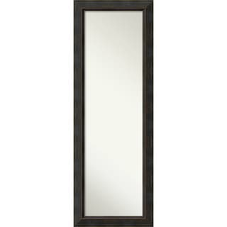 On The Door Full Length Wall Mirror, Signore Bronze 19 x 53-inch - Espresso - 52.38 x 18.38 x 1.032 inches deep