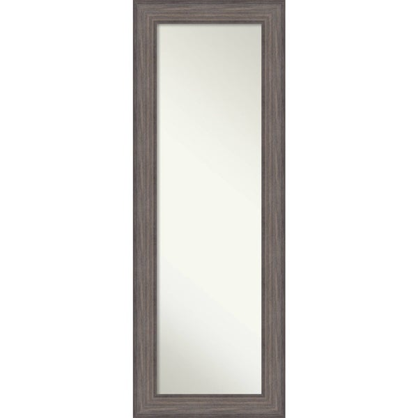 Shop On The Door Full Length Wall Mirror Country Barnwood