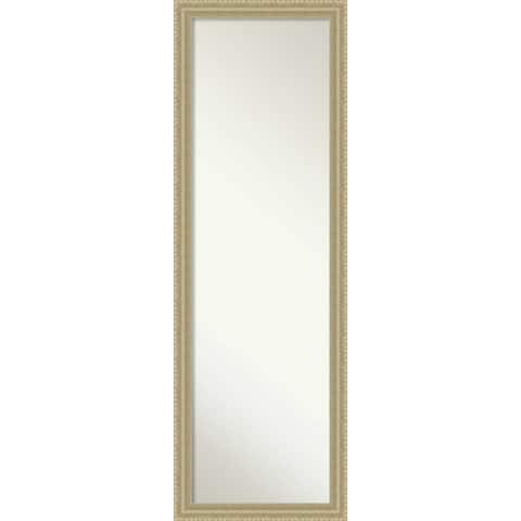 On The Door Full Length Wall Mirror, Champagne Teardrop 17 x 51-inch - 51 x 17 x 1.208 inches deep
