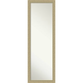On The Door Full Length Wall Mirror, Champagne Teardrop 17 x 51-inch