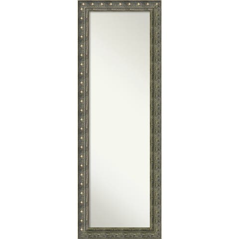 On The Door Full Length Wall Mirror, Barcelona Champagne 18 x 52-inch - 52.38 x 18.38 x 1.385 inches deep