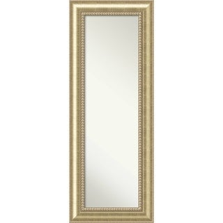 On The Door Full Length Wall Mirror, Astoria Champagne 21 x 55-inch