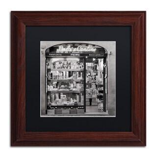 Alan Blaustein 'Dolci e Cantine' Matted Framed Art