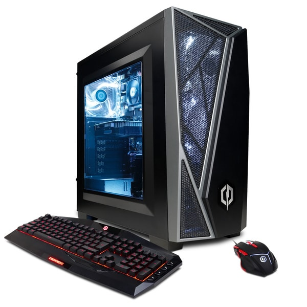 CYBERPOWERPC Gamer Master GMA4400OS w/ AMD Ryzen 5 2600X 3.6GHz Gaming Computer