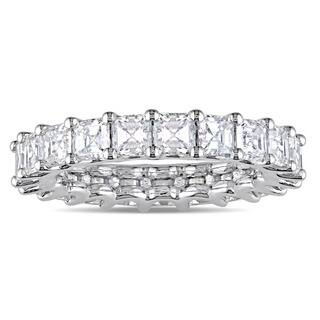 Miadora Signature Collection 18k White Gold 4ct TDW Certified Asscher-Cut Diamond Full-Eternity Ring|https://ak1.ostkcdn.com/images/products/15339996/P21803097.jpg?impolicy=medium