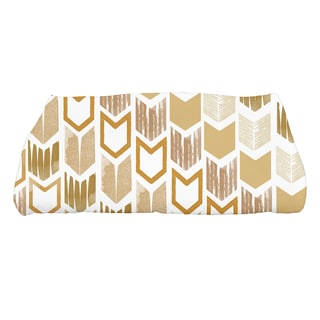 Peace 1, Geometric Print Bath Towel