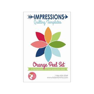 It's Sew Emma IQ Template Orange Peel Set