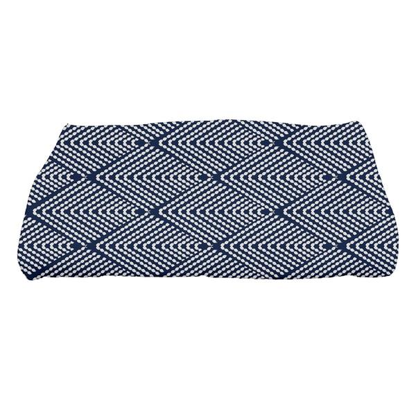 Wenstry, Geometric Print Bath Towel