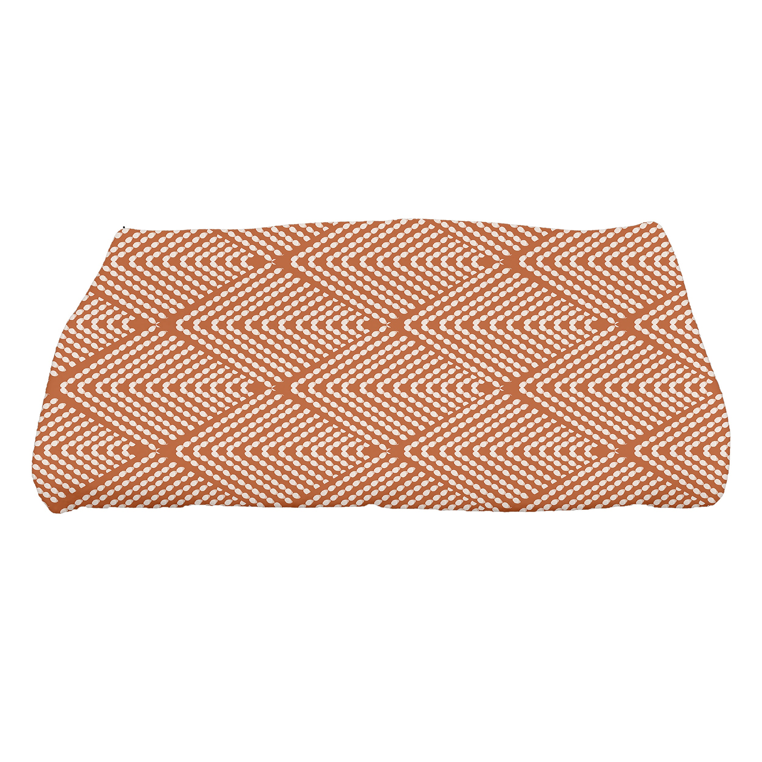 30-x-60-inch-Wenstry-Geometric-Print-Bath-Towel-Orange thumbnail 7