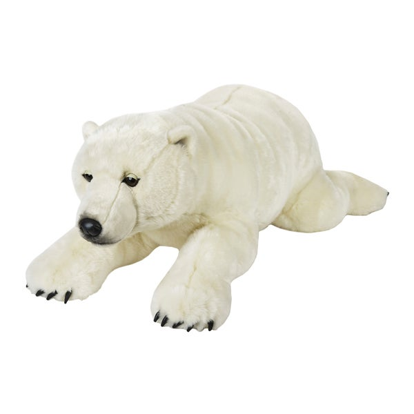 National Geographic Giant Polar Bear Plush