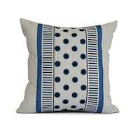 Stripe, Center Stripe Outdoor Pillow