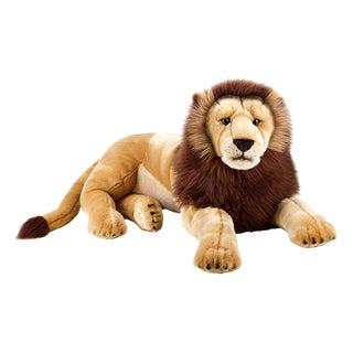 National Geographic Giant Lion Plush