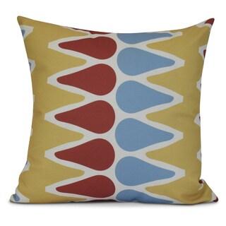 Geometric, Multi Colored Picks Outdoor Pillow