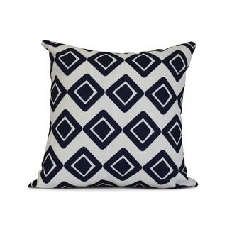 Geometric Diamond Jive 1 Outdoor Pillow (3 options available)