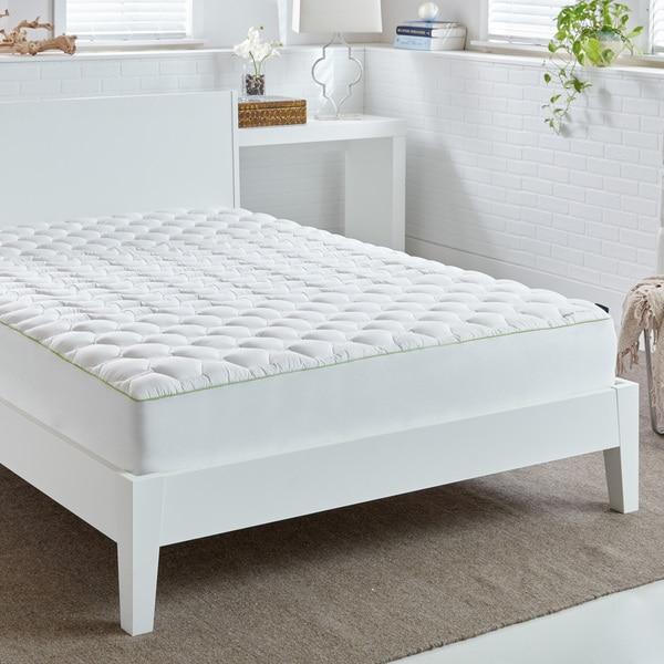 Bedgear® Quick-Dry Hyper Cotton Performance Mattress Pad - White