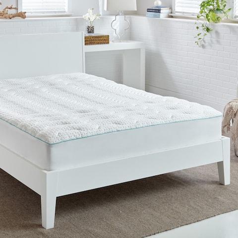 Bedgear Temperature Regulating Performance Mattress Pad - White