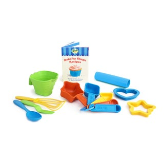 Green Toys Bake by Shape Recipe & Baking Set