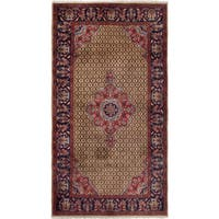 ecarpetgallery Hand-Knotted Koliai Brown  Wool Rug (5'4 x 10'0)