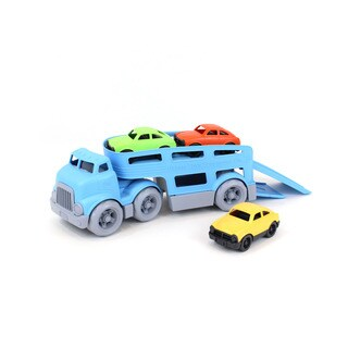 Green Toys Car Carrier w/ Cars